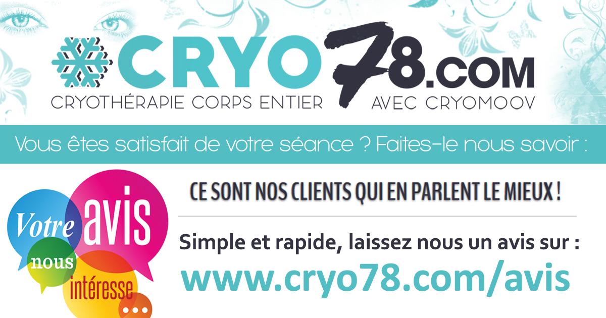 avis et t moignages chez cryo78 cryoth rapie corps entier. Black Bedroom Furniture Sets. Home Design Ideas